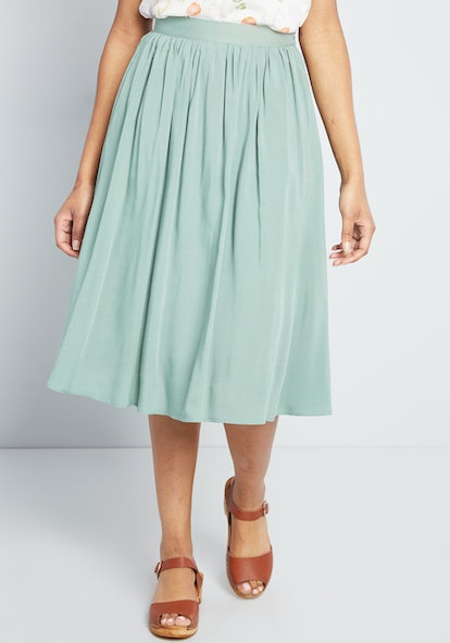 Match Made Midi Skirt