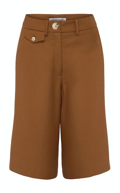 Rae Crepe Bermuda Shorts