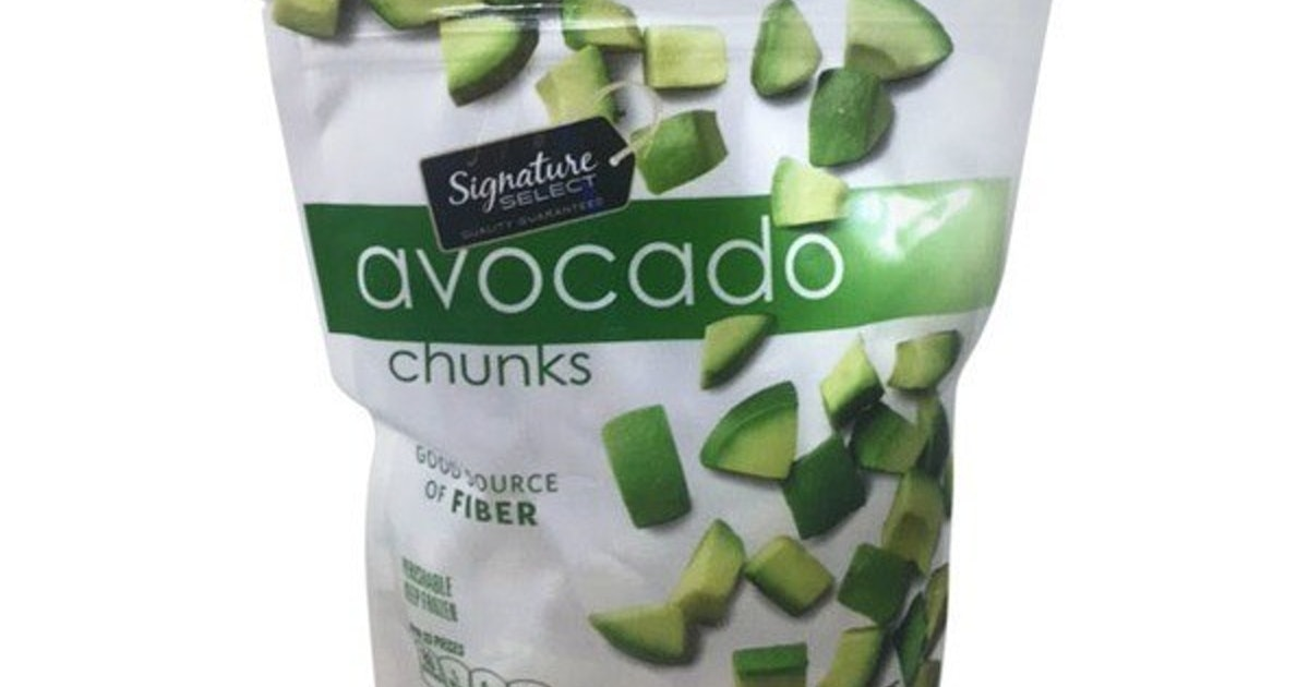 Frozen Avocados Recalled Nationwide From Several Stores Due To Listeria Concerns