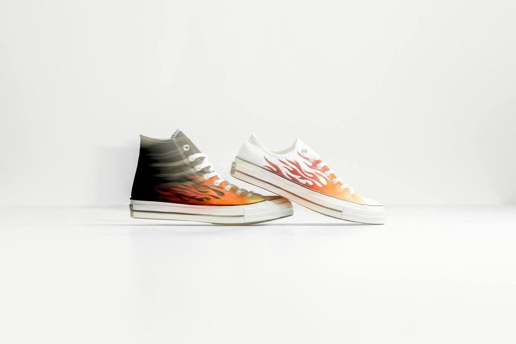 Is Converse's Flame Pack Guy Fieri's Literal Sneaker Dream KFcTl1J3
