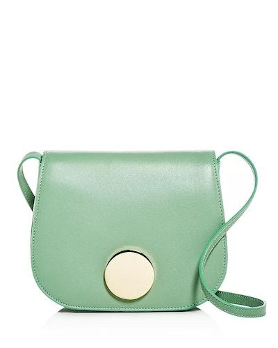 Leather Mini Saddle Bag