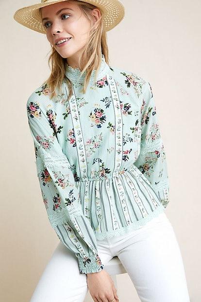 Amour Floral Lace Blouse