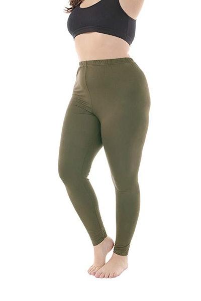 Zerdocean Women's Plus Size Leggings