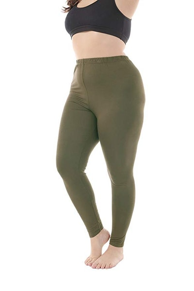 Zerdocean Women's Plus Size Leggings