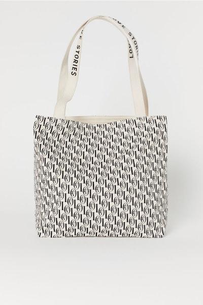 Patterned Beach Bag