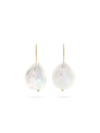 Perfectly Imperfect Baroque Pearl Earrings