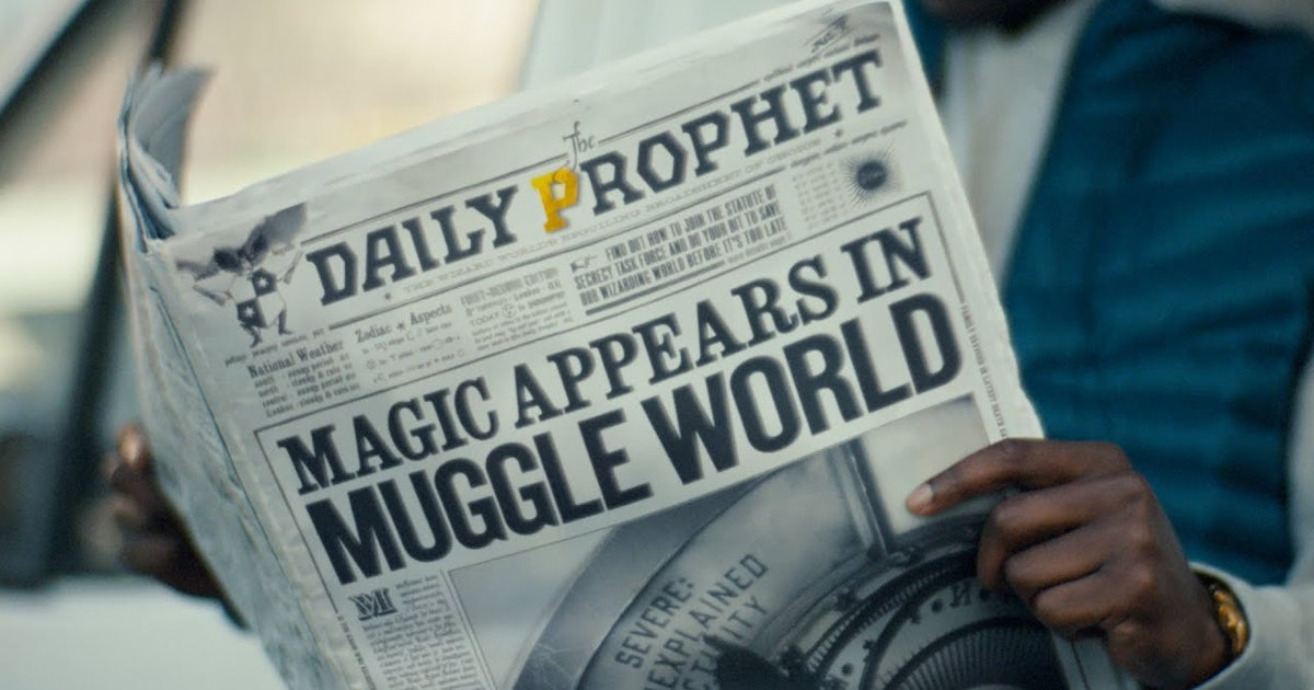 The 'Harry Potter: Wizards Unite' Trailer Will Transport You To The Wizarding World