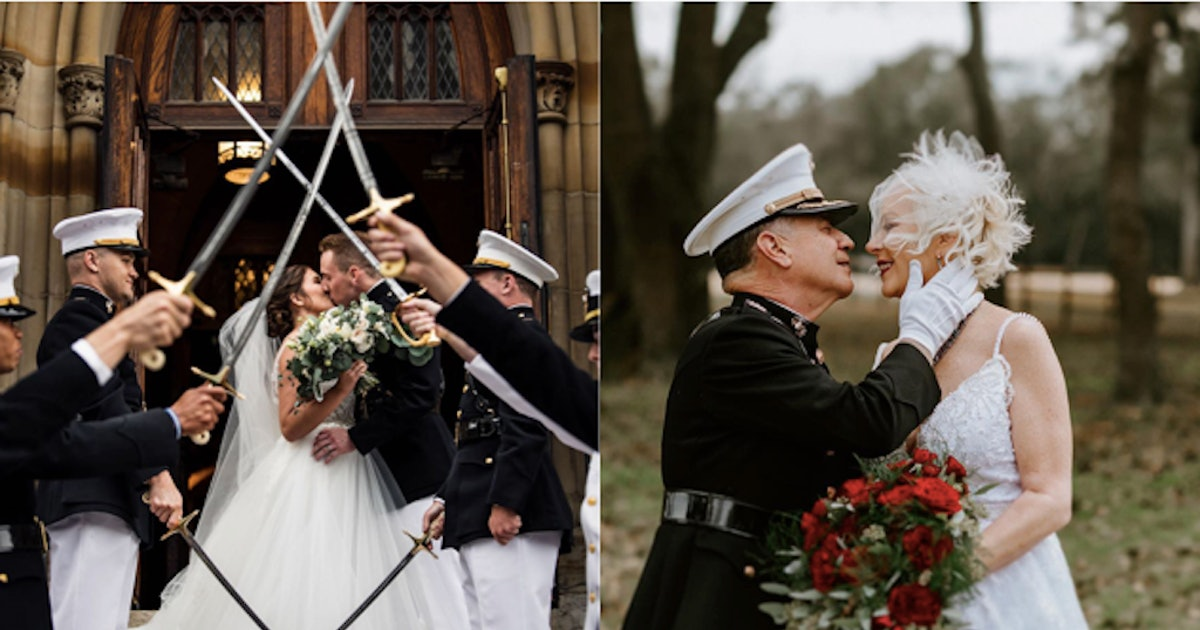 17 Photos Of Military Weddings That Capture How Beautiful Service Can Be