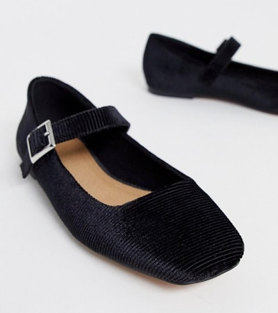 Links Mary Jane Ballet Flats In Black