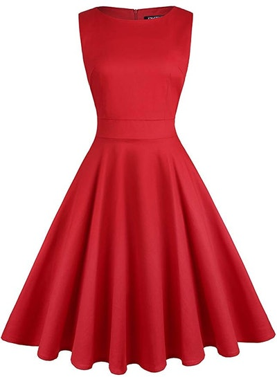 OWIN Women's Vintage Cocktail Dress