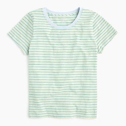 J.Crew Essential T-shirt In Stripes