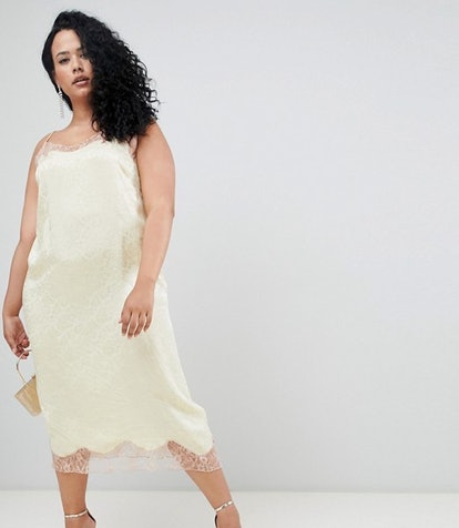 Jacquard Slip Dress