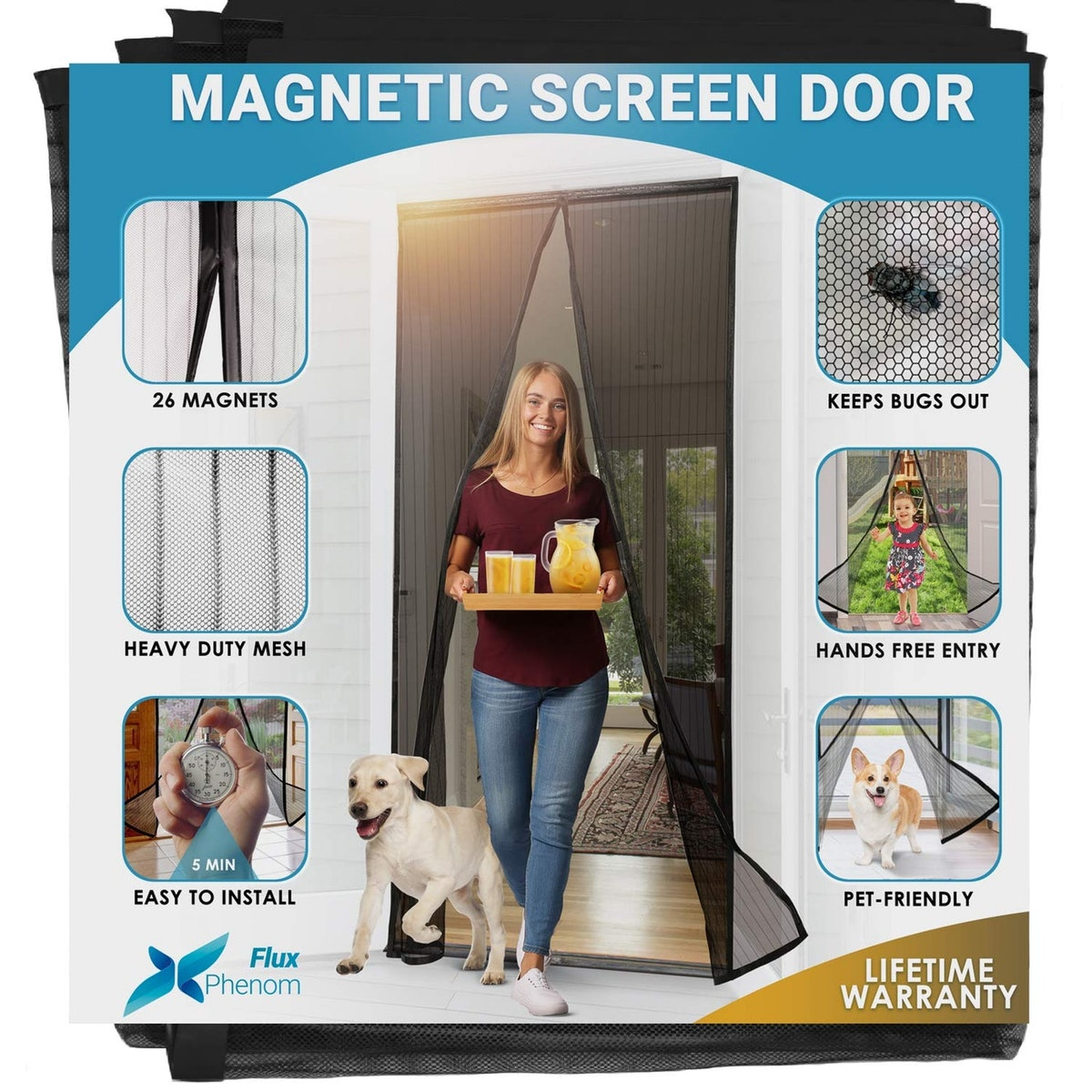 Flux Phenom Magnetic Screen Door