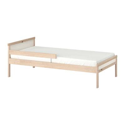SNIGLAR Bed Frame With Slatted Bed Base