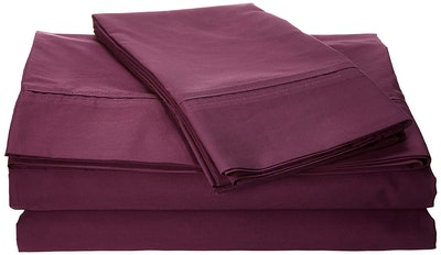 Tribeca Living Percale Bed Sheets, Queen