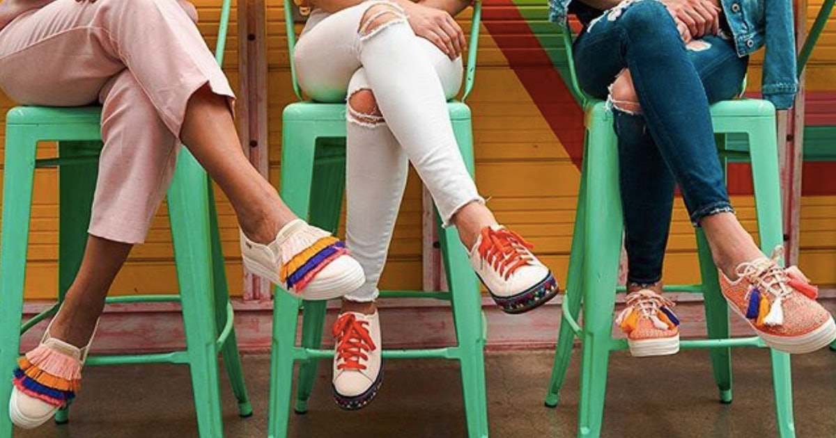 Keds' Ladies For Ladies Collection Celebrates Central American Culture & Women Artisans