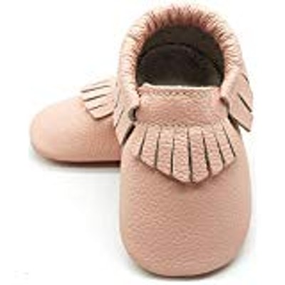 Soft Sole Leather Crib Shoes