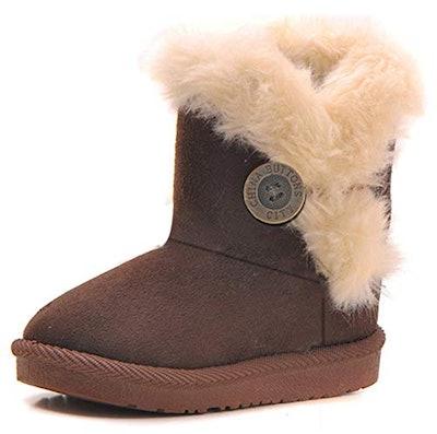 Bailey Button Snow Boots