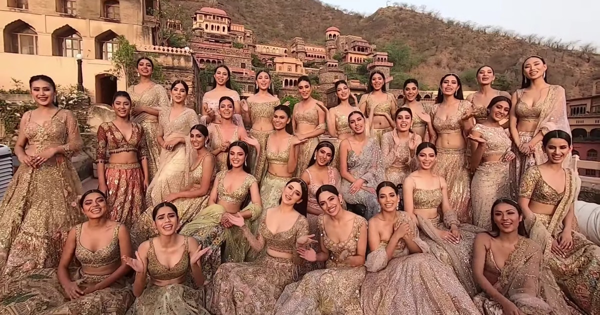 The Miss India Beauty Pageant Is Being Criticized Over A Photo Of The Finalists
