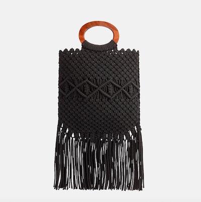 Danielle Nicole Macramé Handbag