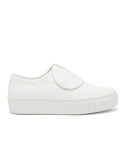 Paper Planes Slip-On Leather Trainers
