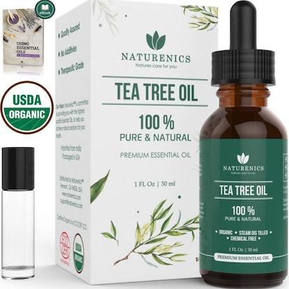 Naturenics Premium Organic Tea Tree Essential Oil
