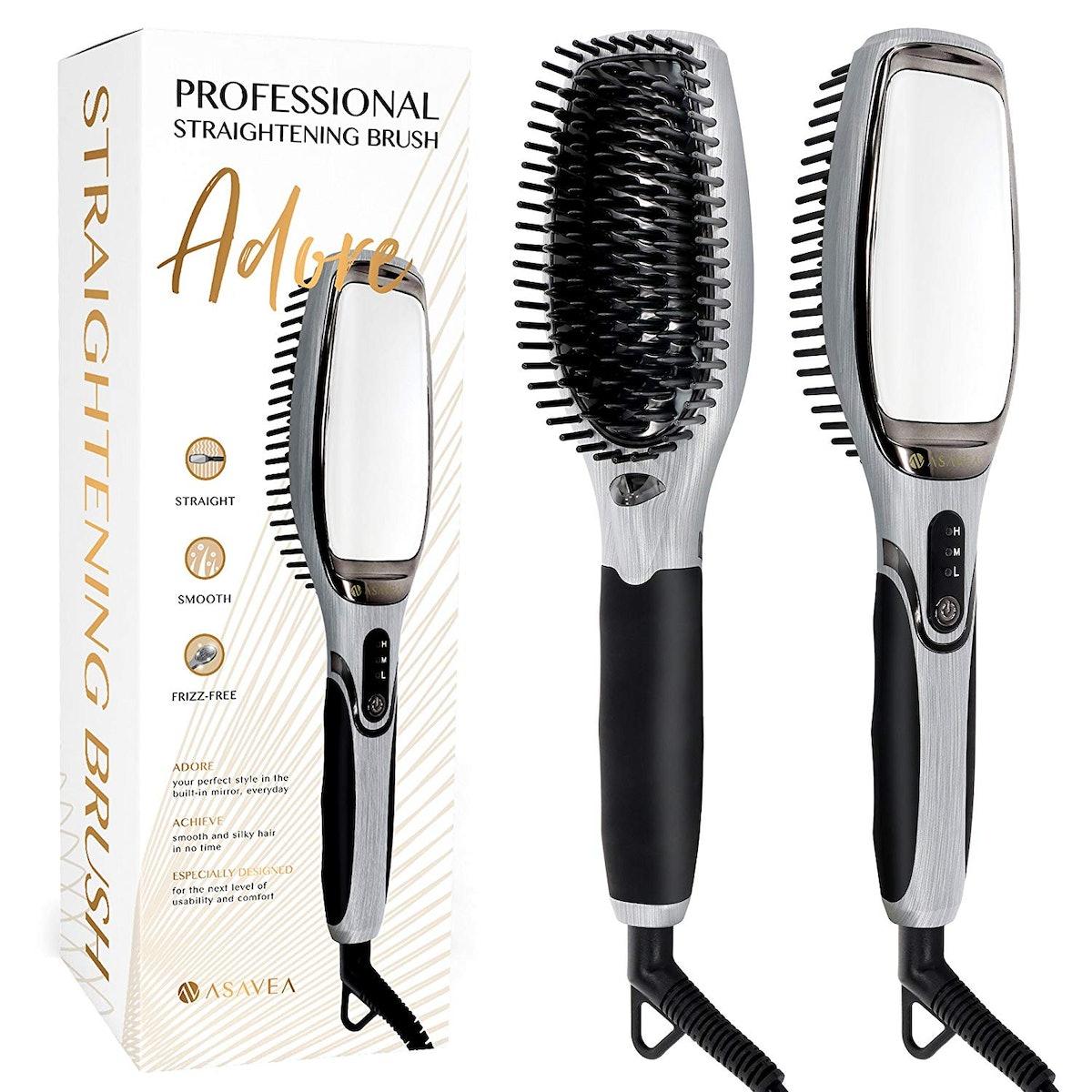 AsaVea Hair Straightener Brush
