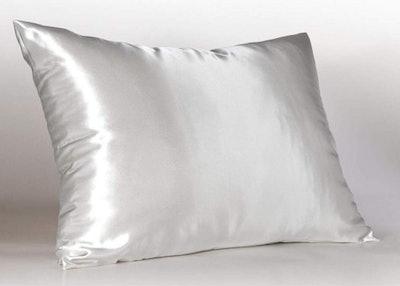 Shop Bedding Satin Pillowcase With Hidden Zipper (Pack of 2), Standard Size