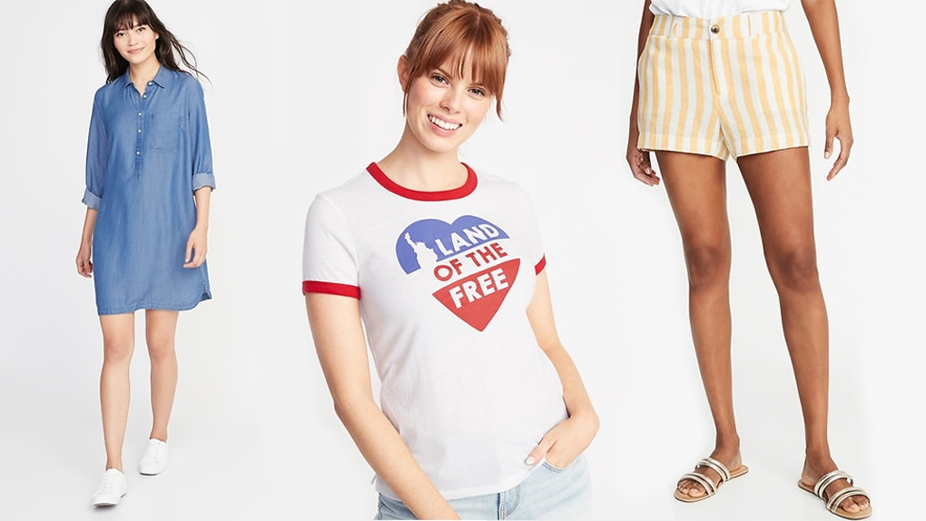 6d544b6295a Old Navy's Summer 2019 Sale Offers 50% Off Shorts, Tees, & Dresses ...