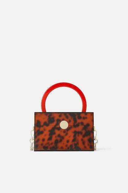Animal Print Methacrylate Handbag
