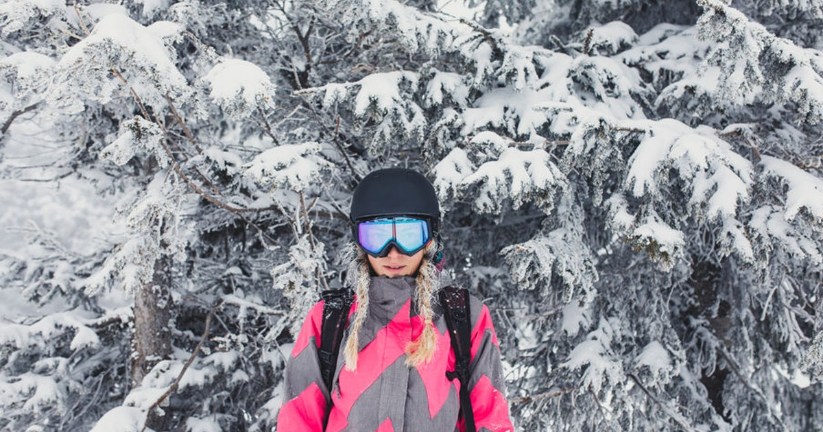 9 Best Hairstyles For Skiing That Won't Get In The Way Of Your Ride