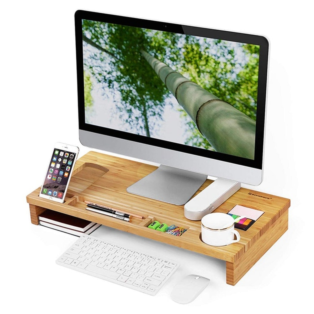 10. An Eco-Friendly Stand That Has Storage