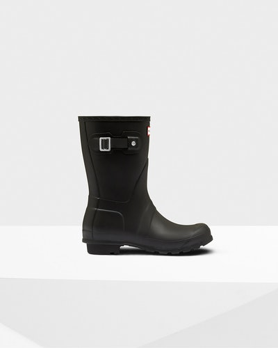 Women's Original Short Rain Boots: Black