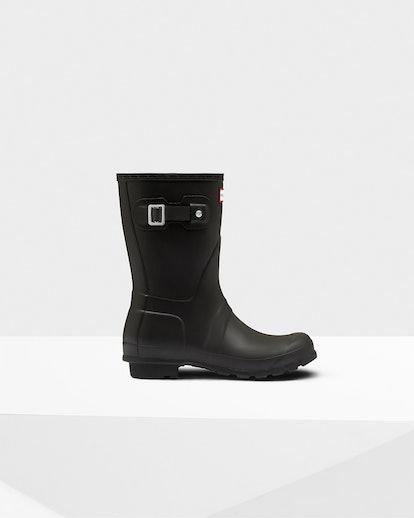 Women's Original Short Rain Boots: Black