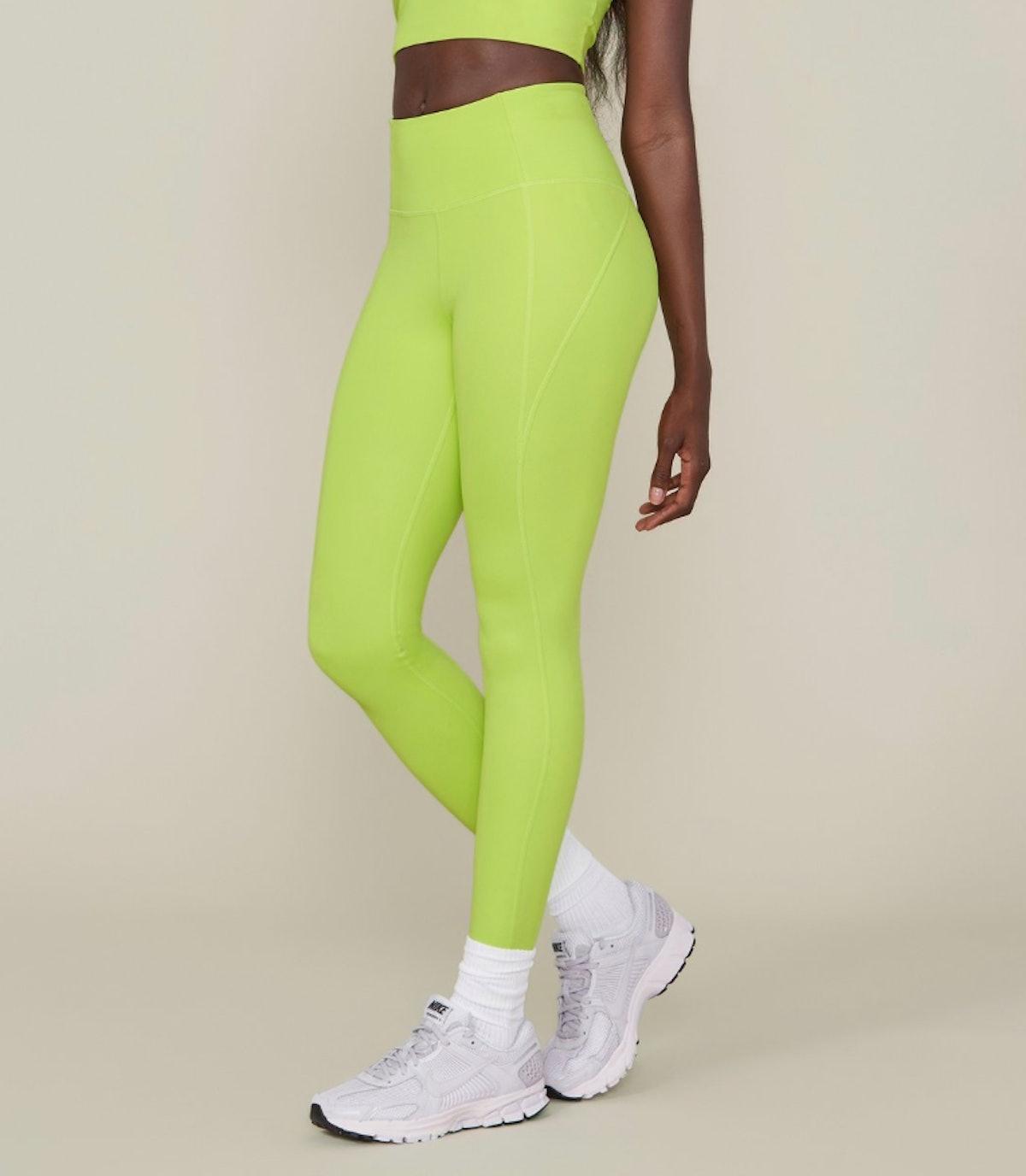Lime Compressive High-Rise Legging