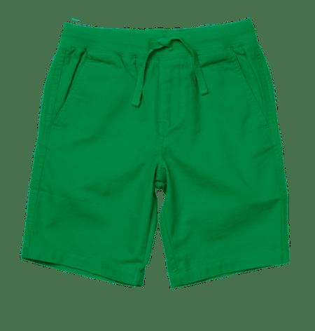Broken Twill Pull-on Shorts