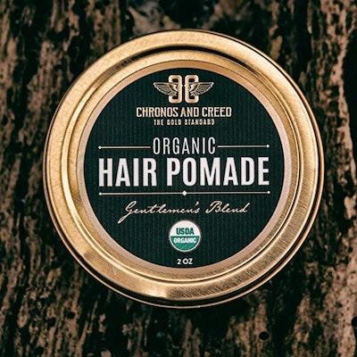 Chronos And Creed Organic Hair Pomade, 2 Ounces