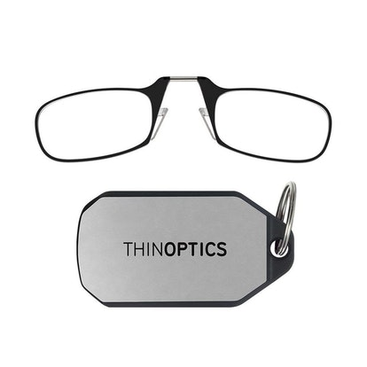 Thin Optics Reading Glasses + Keychain Case