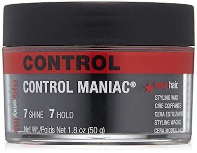 SexyHair Style Control Maniac Styling Wax, 1.8 Ounces