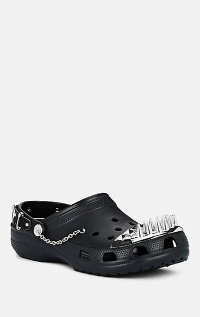 Spiked-Toe Rubber Clogs