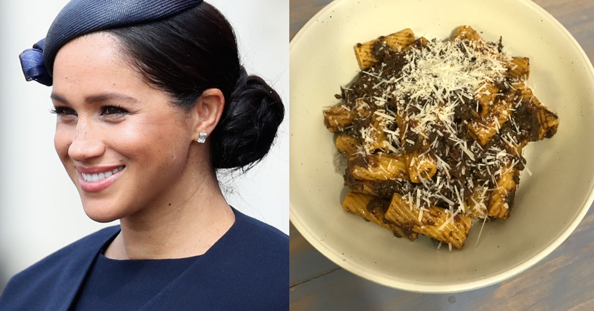 I Tried Meghan Markle's Zucchini Pasta Sauce & It's Royally Easy To Make
