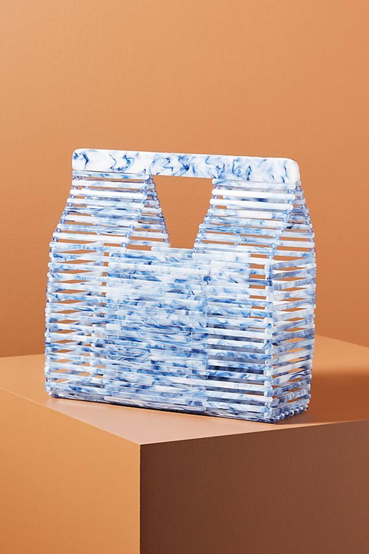 Jamie Acrylic Basket Bag