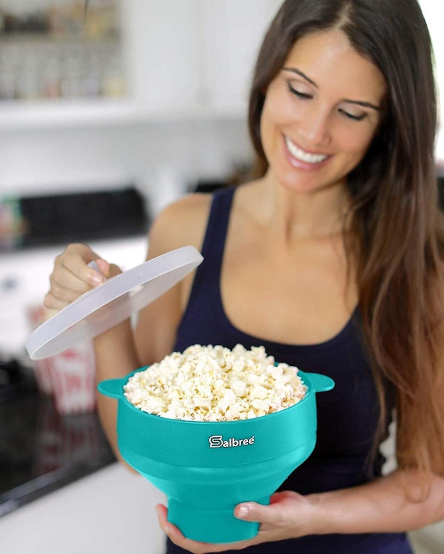 The Original Salbree Microwave Popcorn Poppe