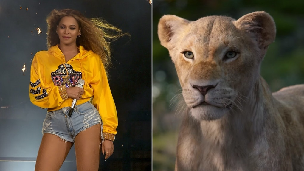 Beyonce Sings Can You Feel The Love Tonight In A New Lion