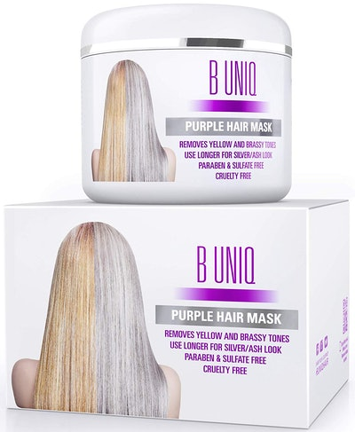 Unknown Purple Hair Mask