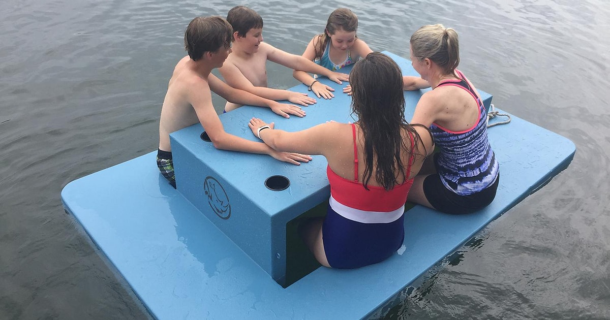 This Floating Picnic Table From Sam's Club Is Made For Lazy Summer Days