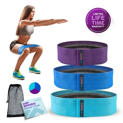 MaxFit Athletica Resistance Bands (Set of 3)