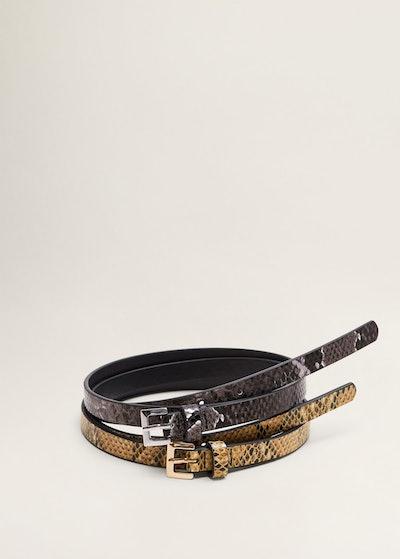 Snake-effect belt pack