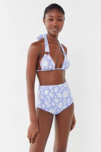 Brink Floral Triangle Bikini Top