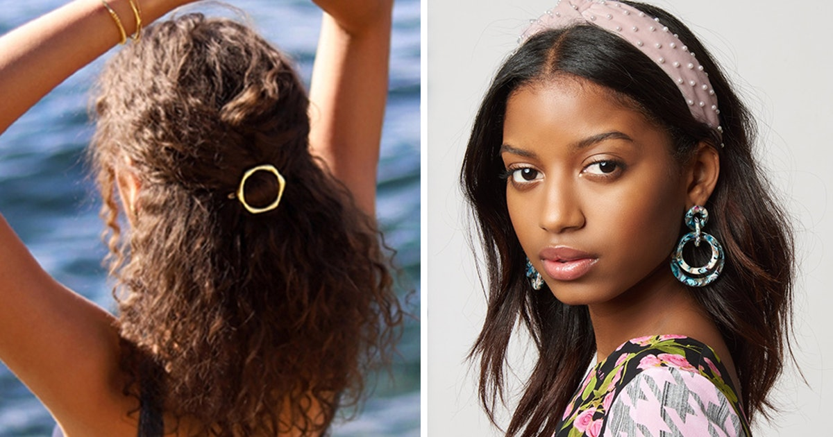 How To Accessorize Your Hair For Summer 2019, From Headbands & Hair Clips To Easy-To-Use Extensions